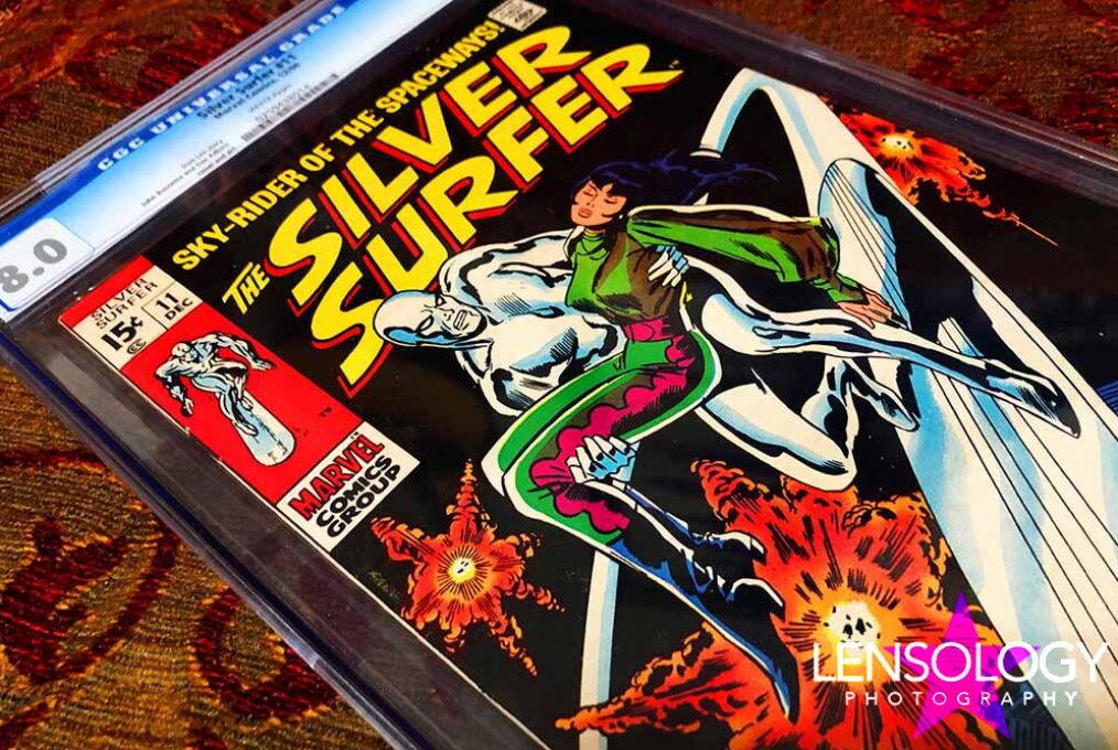 Silver Surfer No 11 Cover